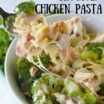Pinnable image 3 for instant pot broc pasta chicken