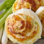 Pinnable image 2 for green onion rolls.