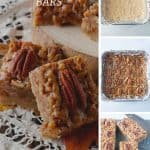 Pinnable image 4 for pecan pie bars.