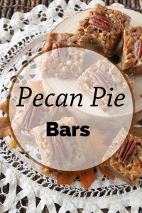 Pinnable image 5 for pecan pie bars.