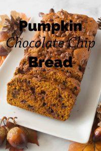 Pinnable image 3 for pumpkin bread.