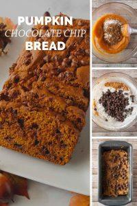 Pinnable image 4 for pumpkin bread.