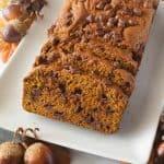 Facebook image for pumpkin bread.