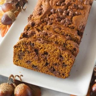 Facebook image for pumpkin bread.