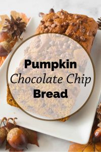 Pinnable image 5 for pumpkin bread.