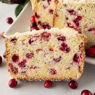 Facebook image for cranberry bread.