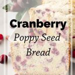 Pinnable image 5 for cranberry bread.