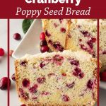Pinnable image 6 for cranberry bread.