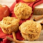 FAcebook image for apple muffins.