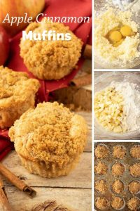 Pinnable image 4 for apple muffins.