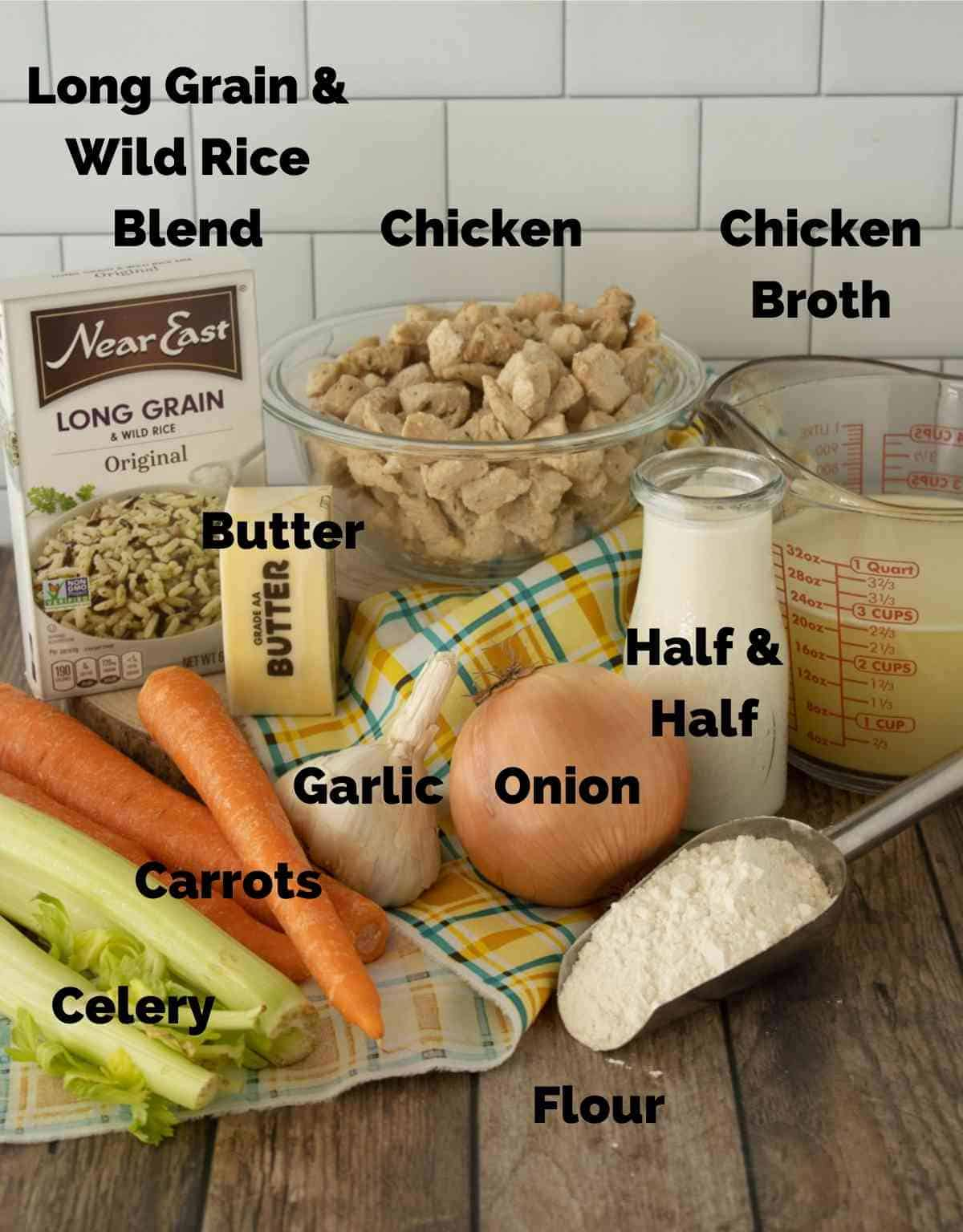Everything you'll need to make this great recipe!